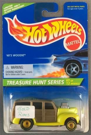 Hot Wheels 1996 Treasure Hunt Series 40s Woodie