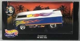 Hot Wheels Collectibles Customized VW Drag Bus