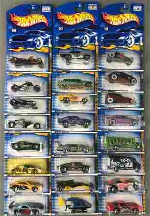 Group of 6 Hot Wheels 4-vehicle series