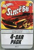 Hot Wheels Since 68 Hot Rods 4-Car Pack