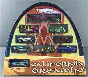 Hot Wheels California Dreamin 10-Car set