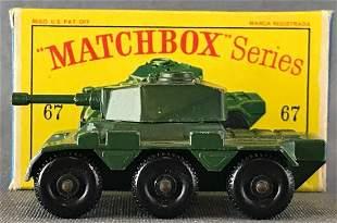 Matchbox No. 67 Saladin Armoured Car