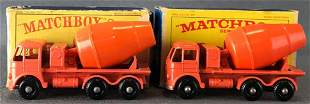Group of 2 Matchbox No. 26 Cement Lorry