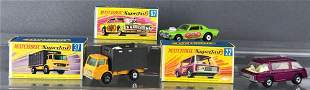 Group of 3 Matchbox Superfast die-cast vehicles