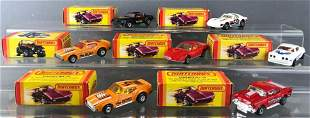 Group of 7 Matchbox die-cast vehicles