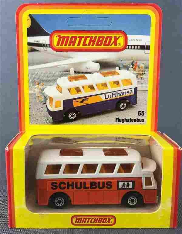 German market Matchbox No. 65 Flughafenbus