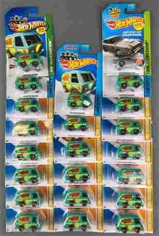Group of 22 Hot Wheels Die Cast Vehicles