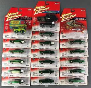 Group of 19 Johnny Lightning Vehicles