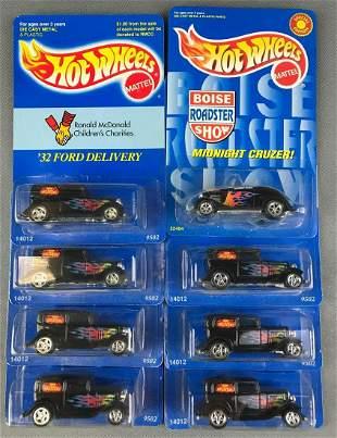 Group of 8 Hot Wheels Die Cast Vehicles