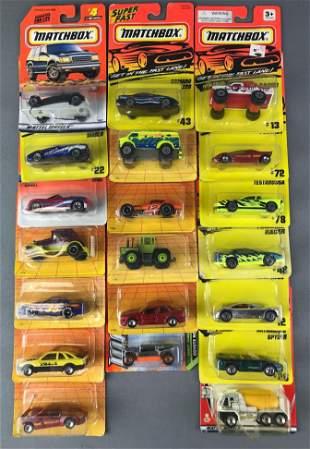 Group of 20 Matchbox Die Cast Vehicles