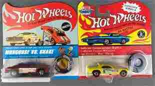 2 Hot Wheels Die Cast Vehicles