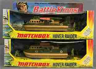 Group of 2 Matchbox Battle Kings No. K-105 Hover Raider