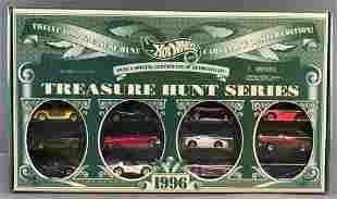 Hot Wheels 1996 Treasure Hunt Series 12-vehicle set