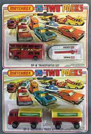 Group of 2 Matchbox Two Packs