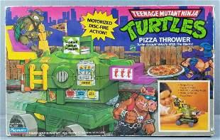 Playmates Teenage Mutant Ninja Turtles pizza thrower