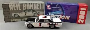 Neil Bonnett #1 B&H Motors die cast replica stock