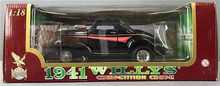 1941 Willys Coupe Die Cast Car