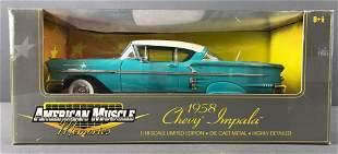 1958 Chevrolet Impala Die Cast Car