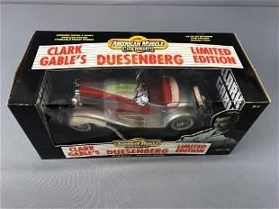 Clark Gable Duesenberg Die Cast Car.