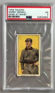 T206 Tolstoi Assorted Subjects Baseball Series, Harry