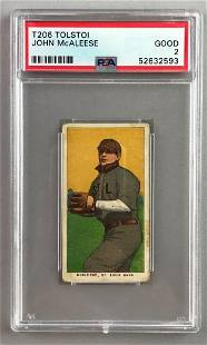 T206 Tolstoi Assorted Subjects Baseball Series, John
