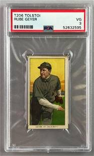 T206 Tolstoi Assorted Subjects Baseball Series, Rube
