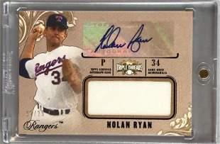 2014 Topps Triple Threads Nolan Ryan- Jersey &
