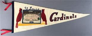 1961 St Louis Cardinals Pennant