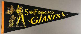 1930's-40's San Francisco Giants Pennant