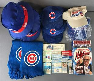 Group of Chicago Cubs Promotional Items