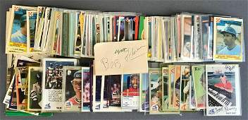 Large Group Of Vintage Baseball Cards