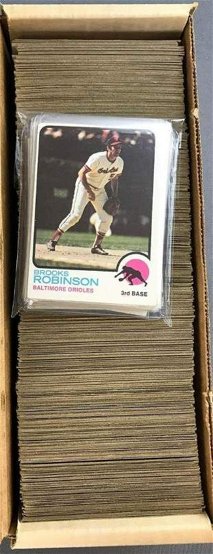 1973 Topps Baseball Cards Partial Set of 514