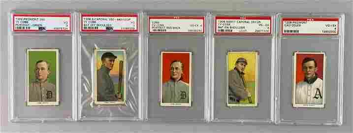 T206 521/524 Cards High Grade Partial Set
