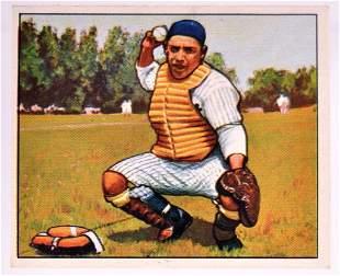 "1950 Bowman New York Yankees Larry ""Yogi"" Berra"
