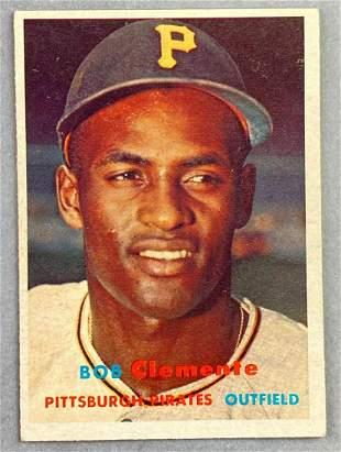 1957 Topps Bob Clemente #76 Baseball Card