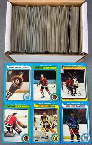 1979-80 Topps Hockey Set with Wayne Gretzy Rookie
