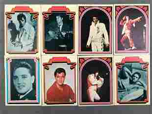 Group of Elvis Presley Trading Cards