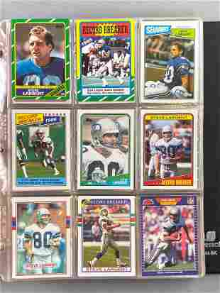 Group of Over 400 Football Cards