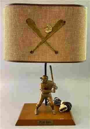 Rare Mickey Mantle Hartland Lamp