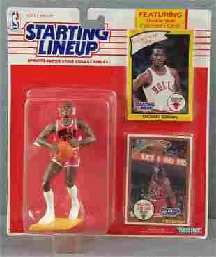 1990 Starting Lineup Michael Jordan collectible