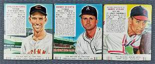 Group of 3 Red Man Tobacco baseball trading cards