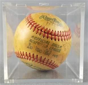 1979 New York Yankees Signed baseball