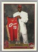2003 Topps Basketball Lebron James Rookie