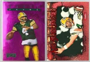 Lot of 2- Brett Favre Football Cards