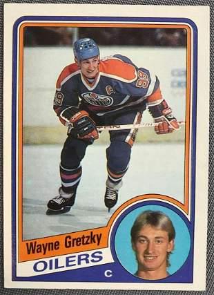 1984-1985 Topps Wayne Gretzky #51 Hockey Card