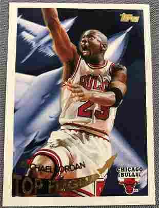 1995 Topps Michael Jordan #TF1 Basketball Card