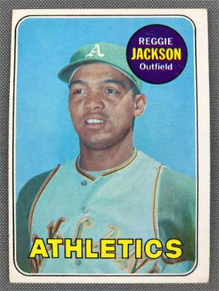 1969 Topps Reggie Jackson #260