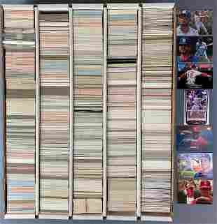 Group of St Louis Cardinals Baseball Trading Cards
