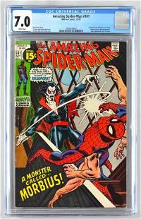 CGC Graded Marvel Comics The Amazing Spider-Man No. 101