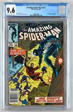 CGC Graded Marvel Comics The Amazing Spider-Man No. 265